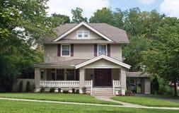 Maison de voisinage Photos stock