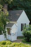 Maison de Williamsburg images libres de droits