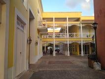 Maison des Caraïbes fraîche et ensoleillée Images stock