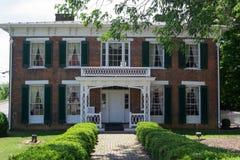 Maison des champs-Penn 1860/musée Abingdon, la Virginie Images libres de droits