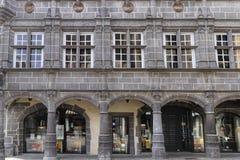 Maison des Consuls in Riom Stock Photography