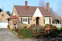 Maison douce à la maison, Gresham OU Image stock