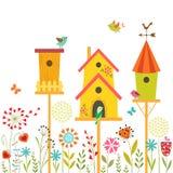 Maison douce illustration de vecteur