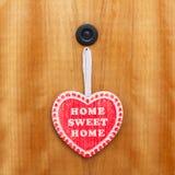 Maison douce à la maison Photos stock