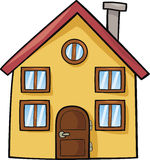Maison drôle illustration libre de droits