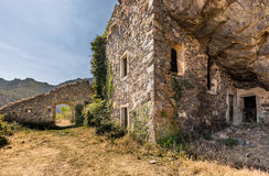 Maison du bandit near Feliceto in Corsica Stock Photography