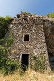 Maison du bandit near Feliceto in Corsica Royalty Free Stock Photography
