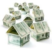 Maison du dollar Image stock