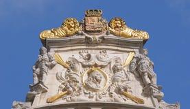 Maison du Kornett på Grand Place Royaltyfri Foto