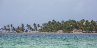 Maison du Panama sur l'île de blas de San Photo libre de droits