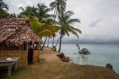 Maison du Panama sur l'île de blas de San Photos stock