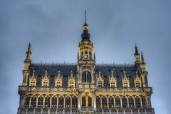 maison du Roi在布鲁塞尔,比利时。 免版税库存图片