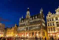 Maison du roi在布鲁塞尔,比利时 免版税库存图片