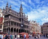 Maison du Roi, Brussel stock fotografie