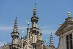 Maison du Roi in Brussels, Belgium Stock Photos