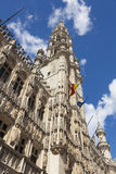 Maison du Roi building, Grand Place. Brussels Royalty Free Stock Images