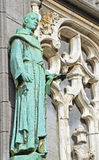 Maison du Roi en Grand Place en Bruselas Fotos de archivo libres de regalías