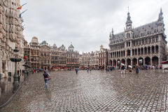 Maison du Roi Grand Place Brussels Stock Photography