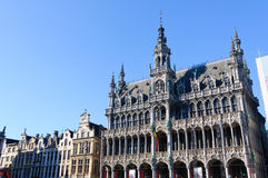 Maison du Roi at Grand Place in Brussels, Belgium Stock Photo