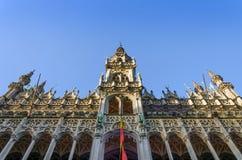 Maison du Roi (House o el Het Broodhuis del rey) en Bruselas, Bélgica Imagen de archivo