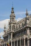 Maison du roi i Bryssel, Belgien royaltyfria bilder