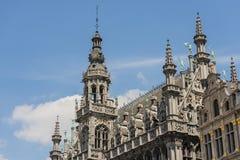 Maison du roi i Bryssel, Belgien arkivfoto