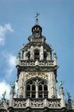 Maison du Roi (Kings House) Spire Detail. Some spire detail of the Maison du Roi (Kings House) -- Grand Place, Brussels, Belgium Stock Photos