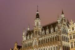Maison Du Roi w Bruksela, Belgia. Obraz Stock