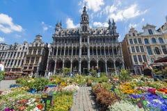 Maison Du Roi w Bruksela, Belgia Obraz Royalty Free