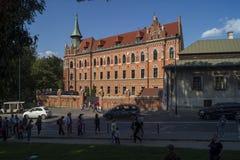 Maison du ` s d'ugosz de 'de janv. DÅ, Cracovie Image libre de droits