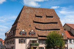 Maison du Sel in historical center of Wissembourg Stock Photo