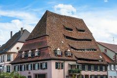 Maison du Sel - le stockage de sel dans Wissembourg Image libre de droits