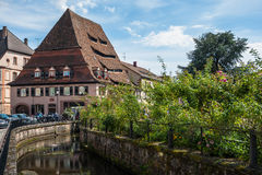Maison du Sel - The Salt Storage in a center of Wissembourg Royalty Free Stock Image