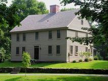 Maison en été. Image stock