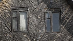 Maison en bois banque de vidéos