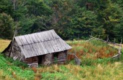 Maison en bois Images libres de droits