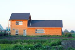 Maison en bois Images stock