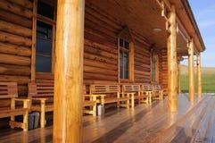 Maison en bois photos libres de droits