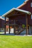 Maison en bois Photo libre de droits