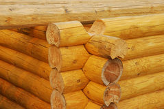 Maison en bois de construction Photos stock