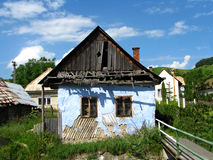 Maison en bois de cru Photo libre de droits