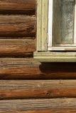 Maison en bois russe Photographie stock libre de droits
