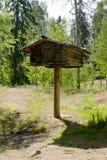Maison en bois rustique sur le musée Seurasaari, Helsinki d'arbre en plein air Photo libre de droits