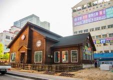 Maison en Corée Image stock