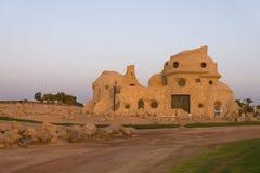 Maison en pierre étrange Photographie stock libre de droits