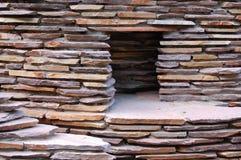 Maison en pierre Photo libre de droits