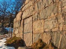 Maison en pierre Images libres de droits