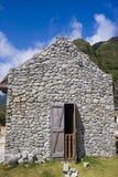 Maison en pierre Image libre de droits