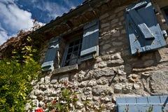Maison en pierre française Image libre de droits