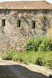 Maison en pierre rustique Photos libres de droits